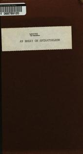 An Essay on Spiritualism ...: An Essay on Spiritualism