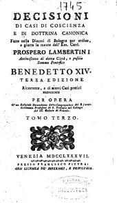 Decisioni di casi di coscienza e di dottrina canonica: Volume 10