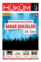 Üniversitelerin Masiyet Günleri: Bahar Şenlikleri: 28. Sayı | Nisan 2015 | Yıl: 3