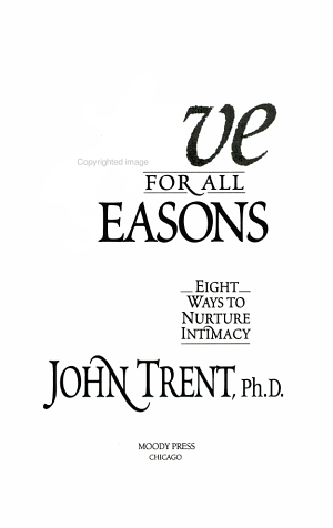 Love for All Seasons PDF