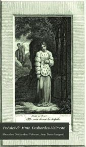 Poésies de Mme. Desbordes-Valmore