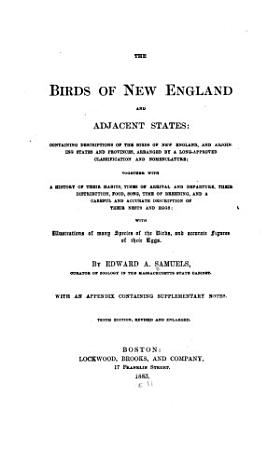 The Birds of New England and Adjacent States     PDF