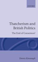 Thatcherism and British Politics PDF