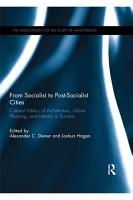 From Socialist to Post Socialist Cities PDF