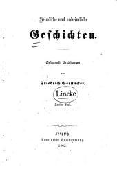 Heimliche und unheimliche Geschichten: gesammelte Erzählungen, Band 2