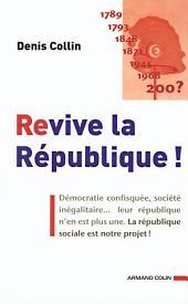 Revive la République !