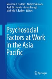 Psychosocial Factors at Work in the Asia Pacific