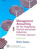 Management Accounting for the Hospitality  Tourism and Leisure Industries PDF
