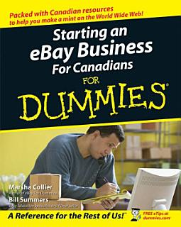 Starting an eBay Business For Canadians For Dummies Book
