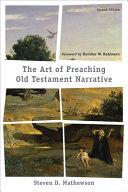 The Art of Preaching Old Testament Narrative PDF