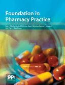 Foundation in Pharmacy Practice