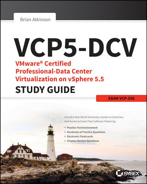 VCP5 DCV VMware Certified Professional Data Center Virtualization on VSphere 5 5 Study Guide PDF