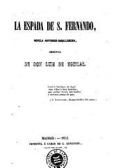 La Espada de S. Fernando: novela histórico-caballeresca