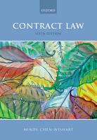 Contract Law PDF