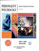 Personality Psychology PDF
