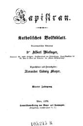 Kapistran: katholisches Volksblatt, Band 4