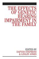 The Effects of Genetic Hearing Impairment in the Family PDF