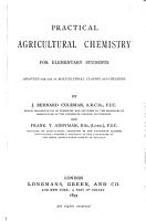 Practical Agricultural Chemistry for Elementary Students PDF