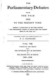 Parliamentary Debates: Official Report : ... Session of the ... Parliament of the United Kingdom of Great Britain and Ireland, Volume 8