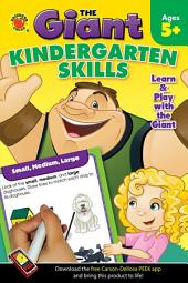 The Giant: Kindergarten Skills Activity Book