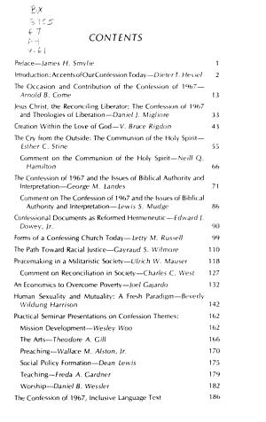 Journal of Presbyterian History PDF