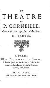 Théâtre de P. Corneille: Volume3