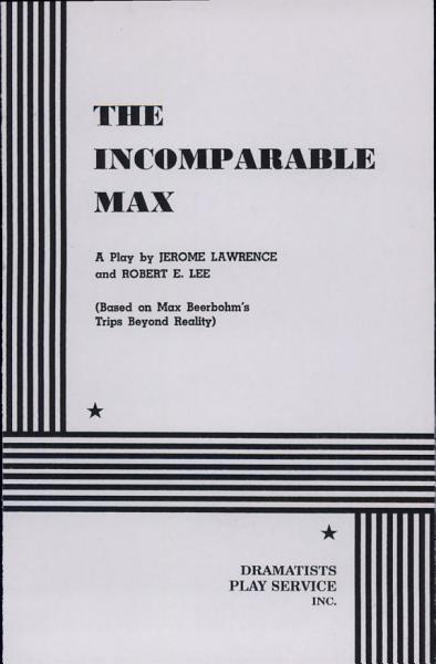 Download The Incomparable Max Book