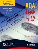 AQA Law for A2 PDF