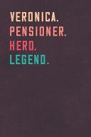 Veronica. Pensioner. Hero. Legend.