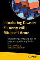 Introducing Disaster Recovery with Microsoft Azure PDF