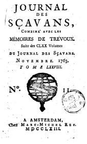 Le journal des sçavans, combiné avec les mémoires de Trévoux: Volume78