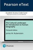 The Cultural Landscape   Pearson Etext Access Card PDF