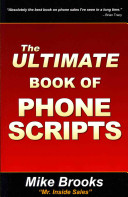 The Ultimate Book of Phone Scripts Book