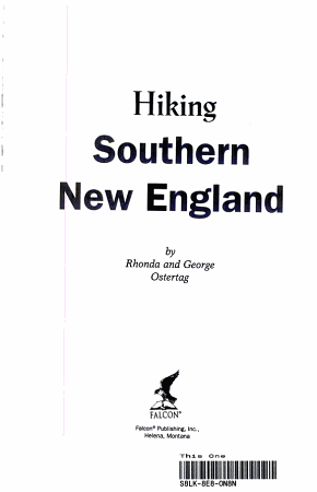 Hiking Southern New England PDF