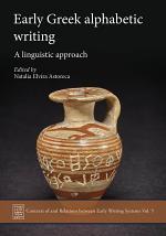 Early Greek Alphabetic Writing