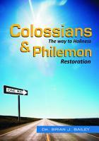 Colossians and Philemon PDF