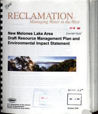 New Melones Lake Area Resource Management Plan PDF