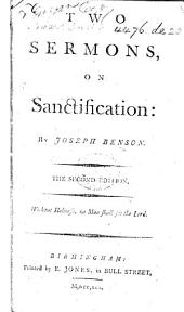 Two Sermons on Sanctification