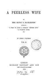 A peerless wife: Volume 2