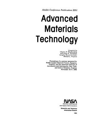 Advanced Materials Technology PDF