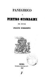 Panegirico a Pietro Giordani