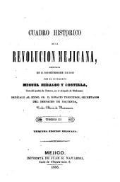 Cuadro histórico de la revolución mejicana: comenzada el 15 de septiembre de 1810 por el cuidadano Miguel Hidalgo y Costilla, Volumen 3