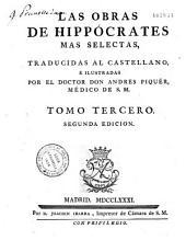 Las obras de Hippocrates mas selectas, illustradas por el dr Andres Piquer