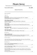 Download Theatre survey Book