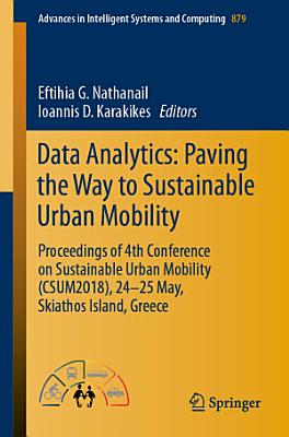 Data Analytics: Paving the Way to Sustainable Urban Mobility