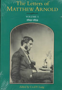 The Letters of Matthew Arnold PDF