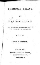 Chemical Essays: Volume 2