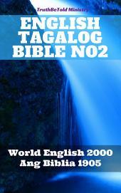 English Tagalog Bible No2: World English 2000 - Ang Biblia 1905