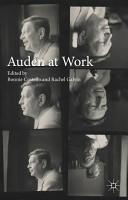 Auden at Work PDF