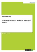 Absurdity in Samuel Becketts  Waiting for Godot  PDF